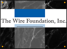 Illustrated image of The Wire Foundation, Inc. logo.